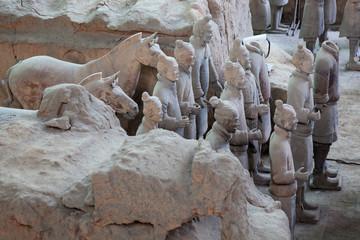 Papiers peints Xian Terracotta warriors in Xian, China