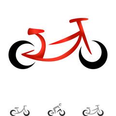 Wall Mural - modernes Fahrrad