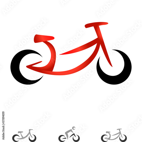 Wall mural modernes Fahrrad