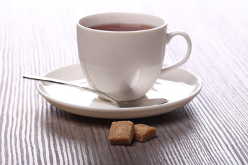 Two sugar and tea