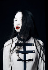 portrait of modern geisha