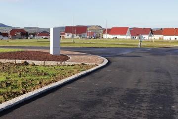 Neu gebautes Wohngebiet mit freien Baugrundstücken