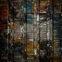 Fototapete - old bricks wall
