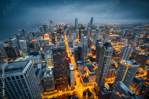Fotomurales Chicago skyline