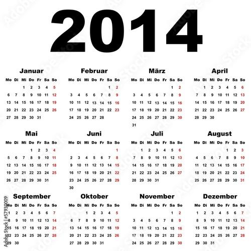 kalender 2014 deutschland stockfotos und lizenzfreie. Black Bedroom Furniture Sets. Home Design Ideas