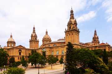 National Palace of Montjuic in Barcelona