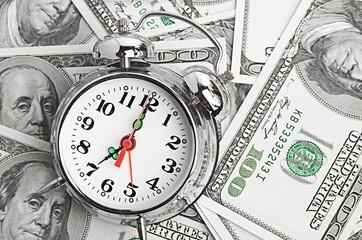 Time - money. Business concept