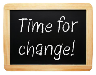 Time for change !