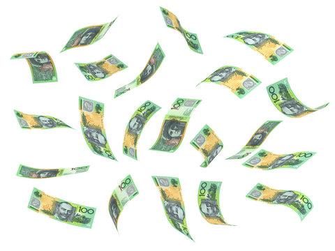 Flying Australian Dollar