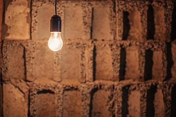 Lamp bulb.