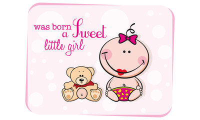 was born litlle girl