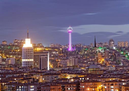 ATA Tower in Ankara