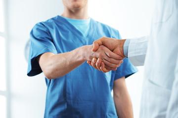 Successful healthcare team
