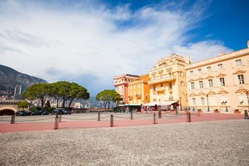 Square in front of prince residence in Monaco