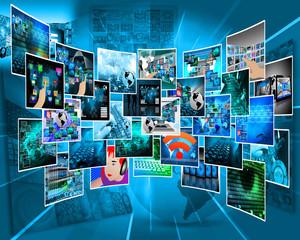 Internet cyberspace