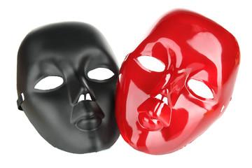 Masks isolated on white