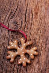 Weihnachten - Keks auf Holz