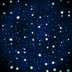 Decorative star background