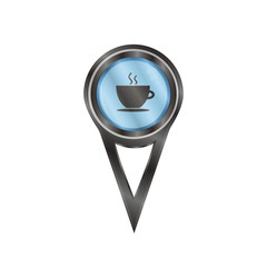 Pin sign coffee cup
