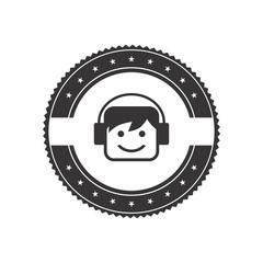avatar portrait picture label