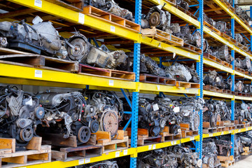 Automobile Engine Blocks