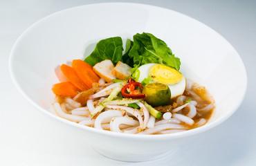 assam laksa, asian malaysian food