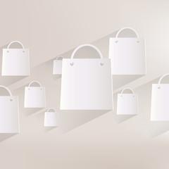 shopping bag web icon
