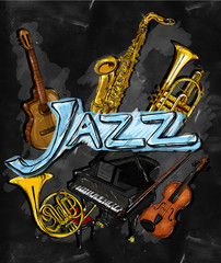 Jazz Painting Instrument