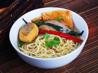 Noodle Soup. asia food
