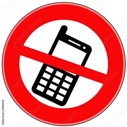 телефон запрещён картинка