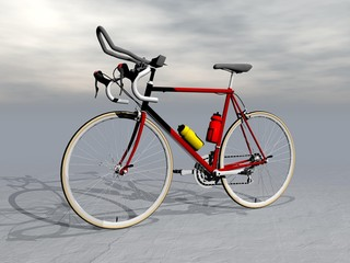 Race bike - 3D render
