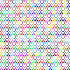 Seamless pattern withb curly elements