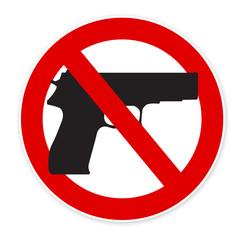insécurité paix - arme à feu interdite