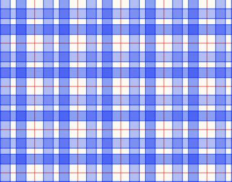 tissu bleu à carreaux quadrillé