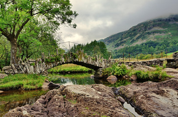 Packhorse bridge, Little Langdale,Cumbria