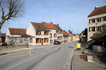 France, the village of Saint Martin la Garenne