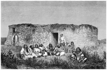 Arabian Family : Middle-East - Bédouins