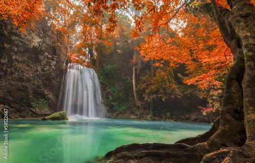 водопад водоем waterfall the pond  № 736687  скачать