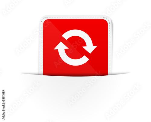 schild rot pfeile kreislauf stockfotos und lizenzfreie. Black Bedroom Furniture Sets. Home Design Ideas