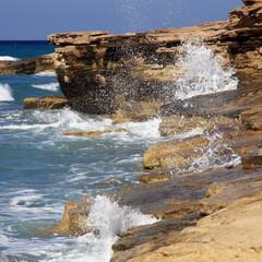 Küste - quadratischer Hintergrund