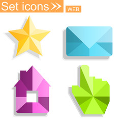 icons, vector illustration