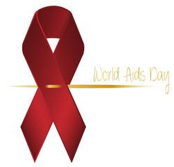 HIV Aids Schleife Vektor Grafik