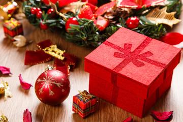 クリスマスオーナメントオブジェクト