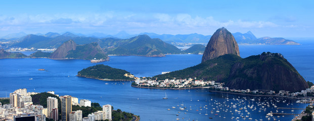 Spoed Foto op Canvas Rio de Janeiro Rio De Janeiro, Brazil landscape