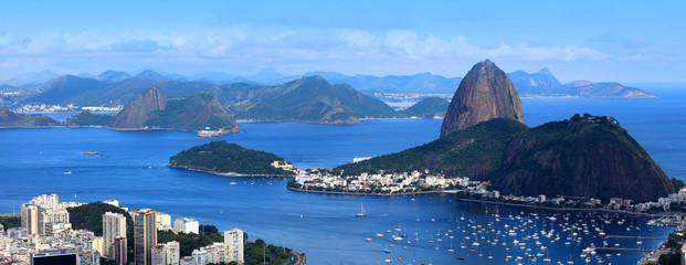In de dag Rio de Janeiro Rio De Janeiro, Brazil landscape