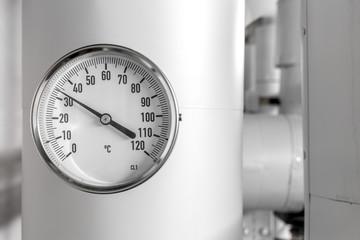 Temperatur analoge Anzeige