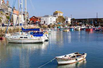 Mevagissey Cornwall England UK