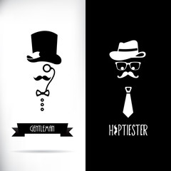 Gentleman and hipster