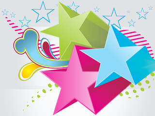 Abstract vector party background.