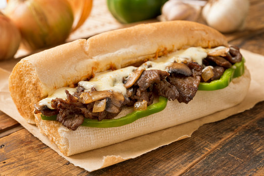 Steak and Cheese Sub